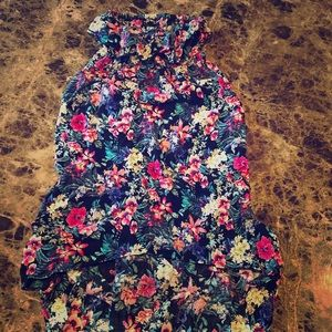 Beautiful floral summer dress